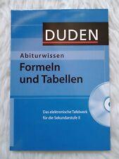 Abiturwissen, Formeln und Tabellen, Das elektronische Tafelwerk für die Sek II