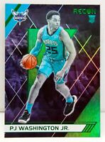 PJ Washington Jr. RC 2019-20 Chronicles RECON Green Refractor Rookie Card #288??