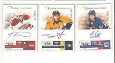 2011-12 Contenders LOUIS LEBLANC On Card Auto Signature Rookie RC #524/800