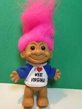 "I Love West Virginia - 5"" Russ Troll Doll - New In Original Wrapper"