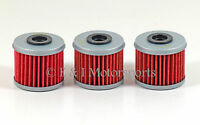 2002-2018 Honda CRF450R CRF450 CRF 450R 450 HiFlo Oil Filter - Pack of 3