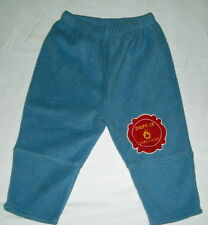 Super cute Warm and Fuzzy Boys Blue Pants Size 24 Mos.