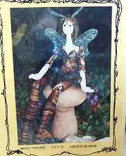 """Magic Threads cloth doll pattern WOOD NYMPH 22"""" by Julie McCullough"""