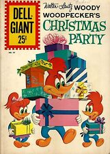 Woody Woodpecker Christmas Party Comics Dell Comics #54 Comic Book 5.5 FN- 1961