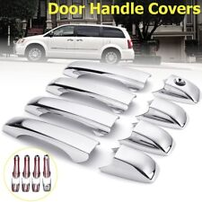 8Pcs Chrome Door Handle Covers Trim For Chrysler 300 Dodge Magnum Avenger Jeep