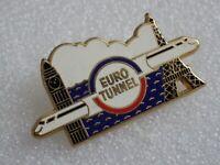 Pin's vintage épinglette Collector Pub Euro TUNNEL Lot PN041