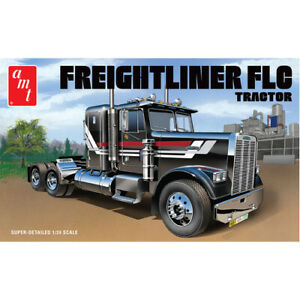 AMT 1195 Freightliner FLC Semi Tractor 1:25 Scale Model Kit AMT