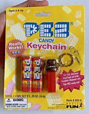 "New! Vintage 1999 Pez Candy Keychain Dispenser ""Gorilla"" or ""Monkey"" No Feet Old"