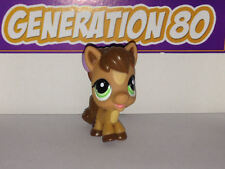Littlest PetShop Poney Bebe Marron Clair N°1880 Pet Shop Horse Pony Cheval