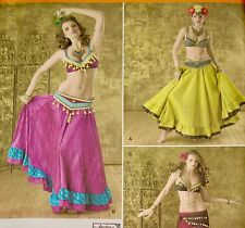 Simplicity Andrea Schewe COSTUME Pattern #2158 BELLY DANCER (Size 6-8-10-12) NEW