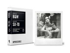 Pellicola Istantanea IMPOSSIBLE B&W Film for Polaroid SX70
