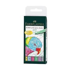 FABER-CASTELL Indiano Inchiostro PITT ARTIST PEN - 6 BOX PASTELLO # 167163