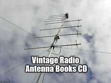 Amateur Radio Ham Antennas Design Build Beam Dipole Wire Wireless Books on CD