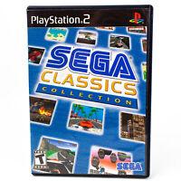 Sega Classics Collection (Sony PlayStation 2, 2005) Complete CIB