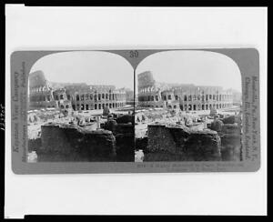 Reproduction,Mighty Monument to Pagan Brutality,Colosseum,Rome,Italy,c1927 5495
