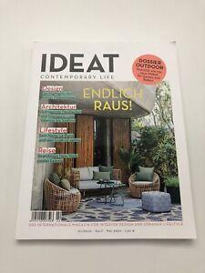 IDEAT - Contemporary Life - Ausgabe 02/2020 - Endlich Raus / New York / Leipzig