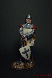 Tin soldier figure Medieval knight 54mm