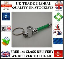 TOBACCO PIPE DISCREET SMOKE SMOKING KEYCHAIN METAL UK STOCK XMAS GIFT WEED/ HIM