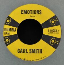 Carl Smith COLUMBIA 40984 Why, Why and Emotions