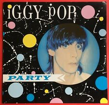 Iggy Pop Party LP 1981 Original Excellent Condition