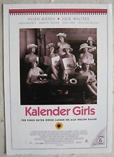 Filmplakatkarte / moviepostercard  cinema  Kalender Girls  Helen Mirren