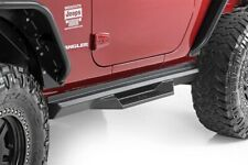 fits Rough Country Jeep DS2 Drop Steps 07-18 Wrangler JK | 2-Door