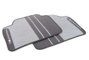 ORIGINAL BMW M Performance Fußmatten LHD hinten für 3er F30 / F31 - 51472409932