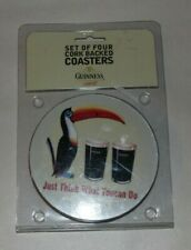 Guinness Set Of Four Cork Backed Coasters - Guinness Just Think What Toucan Do