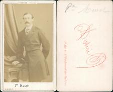 Disdéri, Paris, Joachim Joseph Napoléon Murat Vintage CDV albumen carte de visit