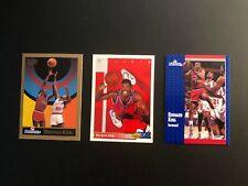 The 1990s BERNARD KING  Fleer,Upper deck,SkyBox (3) Basketball Cards Made in USA