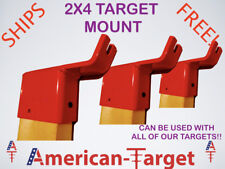 American-Target AR500 3/8 steel shooting target Top 2x4 Mount