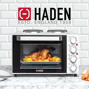 New Haden 25L Table Top Mini Oven 1200W Cooker Hob Tabletop Hotplates