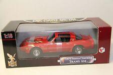 1/18 ROAD SIGNATURE 1979 PONTIAC FIREBIRD TRANS AM , RED , NEW