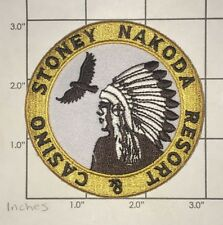 Stoney Nakoda Resort & Casino Patch - Alberta Canada