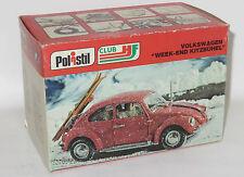 1/25 Original 1970`s Polistil Volkswagen Beetle Snow & Skis - Week-End Kitzbuhel