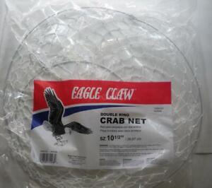 Eagle Claw 10060-001 2 Ring Crab Net Pack of 3 23090