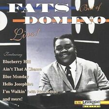 The Best of Fats Domino Live! by Fats Domino (CD, Mar-1996, Laserlight)