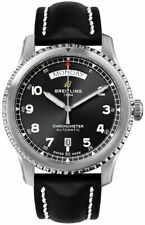 Breitling Aviator 8 Automatic Day & Date 41 Black Dial Men's Watch A45330101B1X1