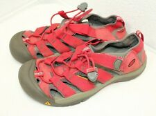 Keen Newport H2 Outdoor Washable Sandals Red Rose Color #1009970 SIZE 6 CLEAN!