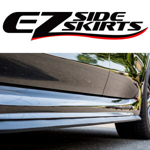 PORSCHE EZ-SIDE SKIRTS SPOILER LIP BODY KIT AERO WING VALANCE ROCKER PROTECTOR