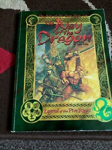 WAY OF THE DRAGON - AEG 3003 - LEGEND OF THE FIVE RINGS RPG SOURCEBOOK 1997