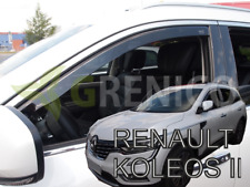 D 2008-2016 5-Portes D/éflecteurs pour Renault KOLEOS 4 pcs Avant et Arriere G