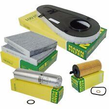 MANN Inspektionspaket Filtersatz BMW 5er F10 F11 520d 184PS und 525d 211PS 218PS