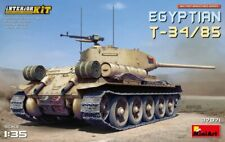 Miniart 37071 1:35th scale Egyptian T-34/85 with Interior Kit