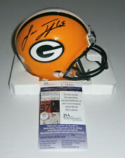 PACKERS Lane Taylor signed mini helmet w/ #65 JSA COA AUTO Autographed Green Bay