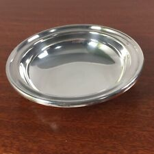 Vintage Christian Dior Silverplate Jewelry Dish Trinket Bowl Made In Italy