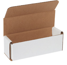 100 Pack 6x2x2 White Corrugated Shipping Mailer Packing Box Boxes 6