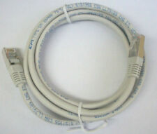 (2) 6 Ft. Phone Ethernet Internet Connection Patch Cable Cord 8 Pin RJ45