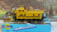 Athearn # 1258 D&RGW Rear Cupola 34 ft Caboose 1/87 HO New in Box Built