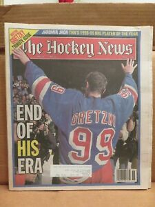 THE HOCKEY NEWS   May 7, 1999 (Wayne Gretzky on the cover)